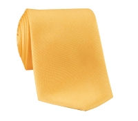 Silk Solid Tie in Sunshine