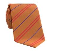 Mogador Multi Striped Tie in Oak
