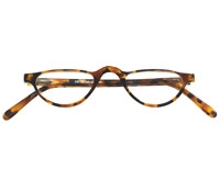 Silver Line Half Moon Reader in Tortoise