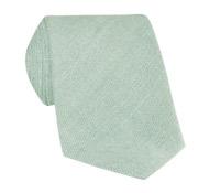 Shantung Silk Solid Tie in Mint