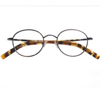 Oval Wire Frame in Black and Tortoise