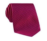 Basketweave Tie in Pink, Red & Marine