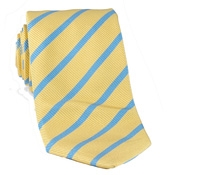 Mogador Bar Stripe Tie in Butter
