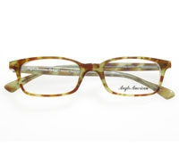 Small Rectangular Frame in Demi-Blonde