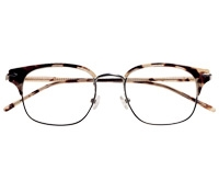 Traditional Brow Frame in Cream Tortoise