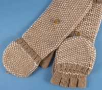 Ladies Cashmere Gloves in Camel