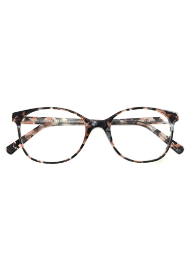 Lafont Arched Semi-Square Frames in Blush Tortoise