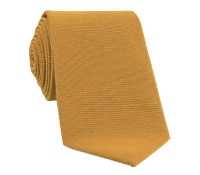 Silk and Wool Solid Tie in Cinnamon