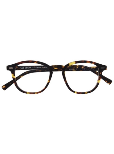 Rounded Square Frame in Tortoise