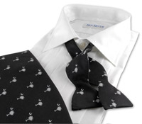 Palmetto & Moon Black with Silver Formal Set