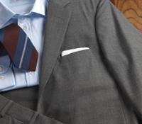 Suit Super 120S Wool Grey