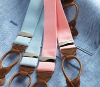 Solid Linen Braces