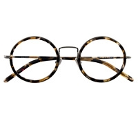 Lafont Retro Round Frame in Tortoise