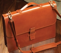 The Messenger Bag in Hazel