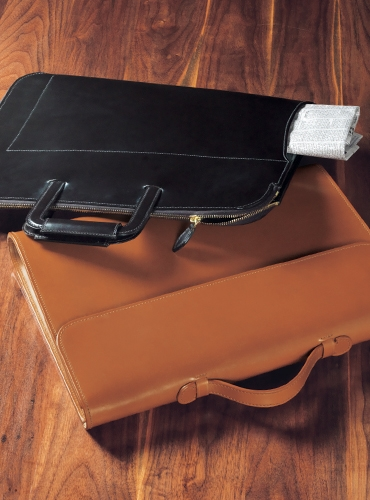 Bespoke Leather Document Folders