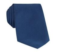 Mogador Silk Solid Signature Tie in Navy