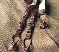 Woven Leather Braces