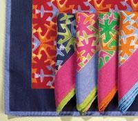 Silk Anchor Pocket Squares