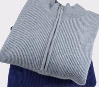 1/2 Zip Cashmere Sweater