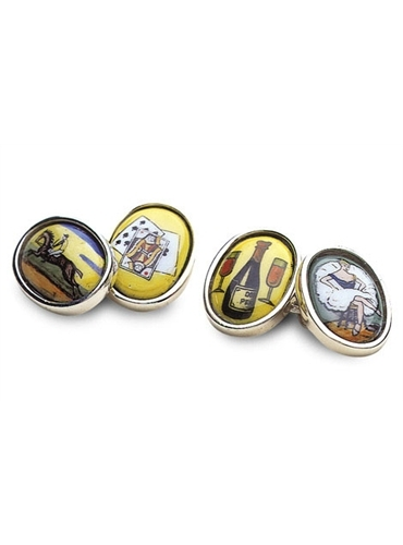 The Four Vices Cufflinks
