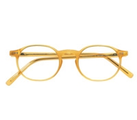 Francois Pinton Classic Oval Frame in Golden Yellow