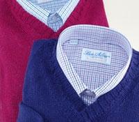 Alpaca and Silk V-neck Sweater