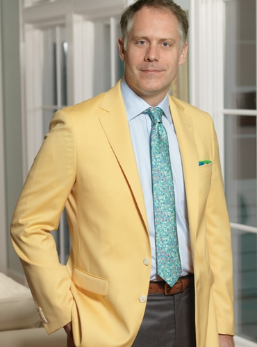 Golden Yellow Tropical Wool Sport Coat