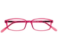Slim Rectangular Frame in Red