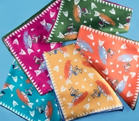 Silk Surfer Printed Pocket Squares