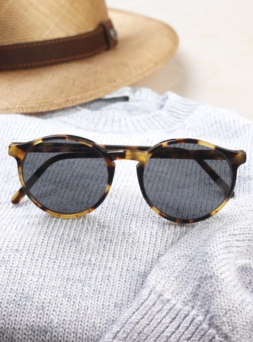 Lafont Pantheon Sunglasses in Oxford Tortoise