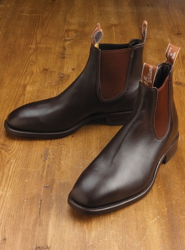 R M Williams Boots In Chestnut
