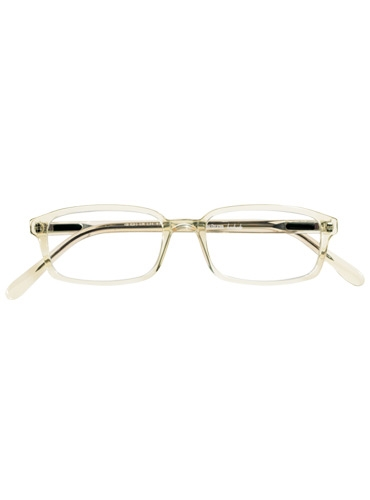 Silver Line Slim Rectangular Frame in Clear