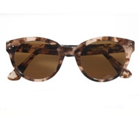 Bold Sunglass Taupe and Brown