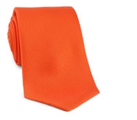 Tie Printed Solid Orange