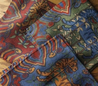 Wool & Silk Tapestry Pocket Squares
