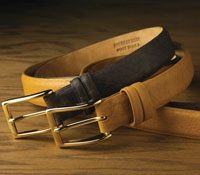 Bison Calf Belt