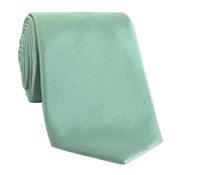 Mogador Silk Solid Signature Tie in Aqua