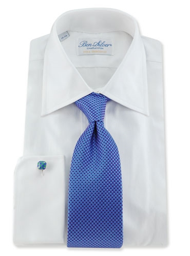 Basketweave Tie in Purple, Sky & Blue