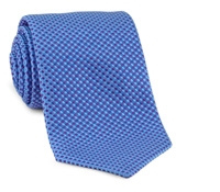 Basketweave Tie in Purple, Sky & Blue