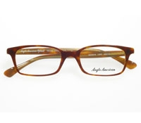 Small Rectangular Frame in Dark Amber
