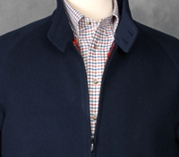 Wool/Cash G9 Jacket Navy