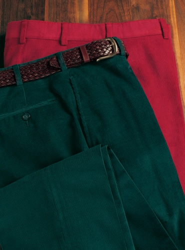 Holiday Trousers in Corduroy
