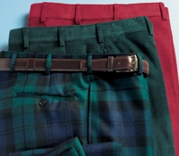 Holiday Trousers in Corduroy or Black Watch