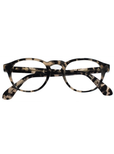 Semi-Square Frame in Smoke Tortoise
