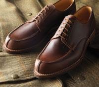 The Wexford Blucher in Dark Brown