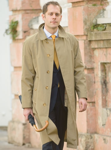 Lightweight English Raincoat