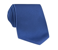 Silk Solid Signature Tie in Iris