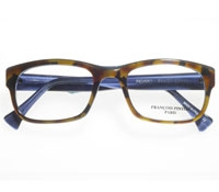 Square Frame in Tortoise and Blue