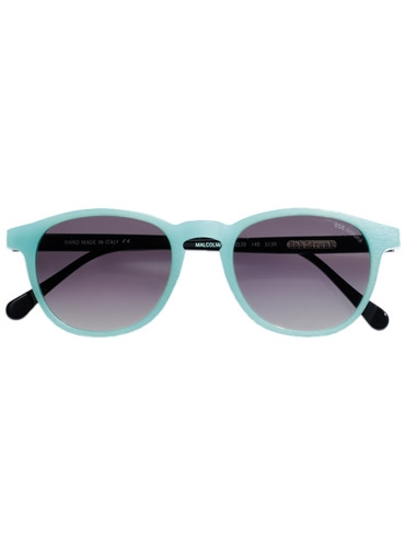 Colorful Sunglasses in Light Blue Matte