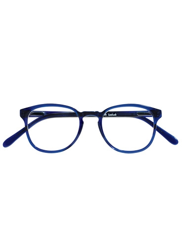 Silver Line Square Frame in Navy